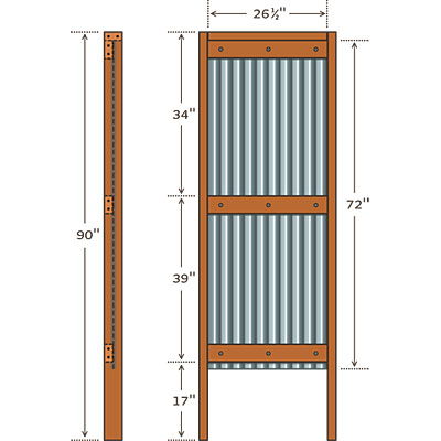 Corrugated metal panels home depot myideasbedroom com