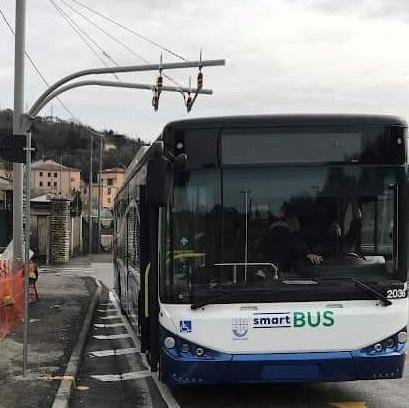 Dal 25 ottobre la linea 64 diventa (in parte) elettrica