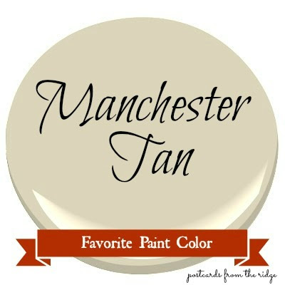 Favorite Paint Color Benjamin Moore Manchester Tan