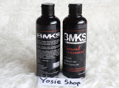 New BMKS PBOM Original Kemasan Terbaru Blackmagic Kemiri Shampoo Garansi