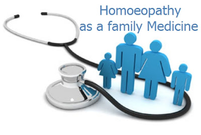 Homoeopathy as a family medicine