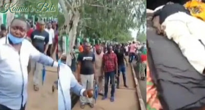 Protests Rock Enugu Over Recent Murder Of Chief By Fulani Herdsmen (Video)