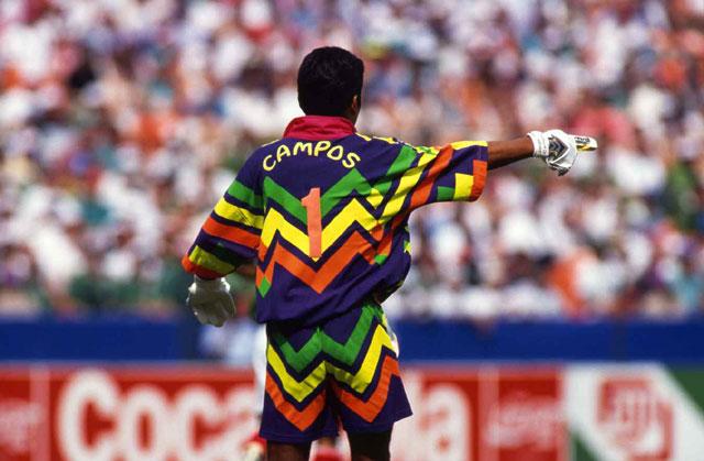 Semua Baju yang Dikenakan oleh Jorge Campos
