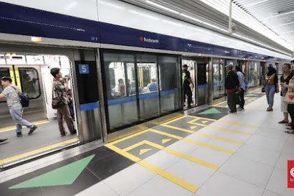 Listrik Padam, Empat Kereta MRT Tertahan di Bawah Tanah