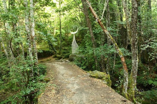 Esculturas del camino del agua, Mogarraz