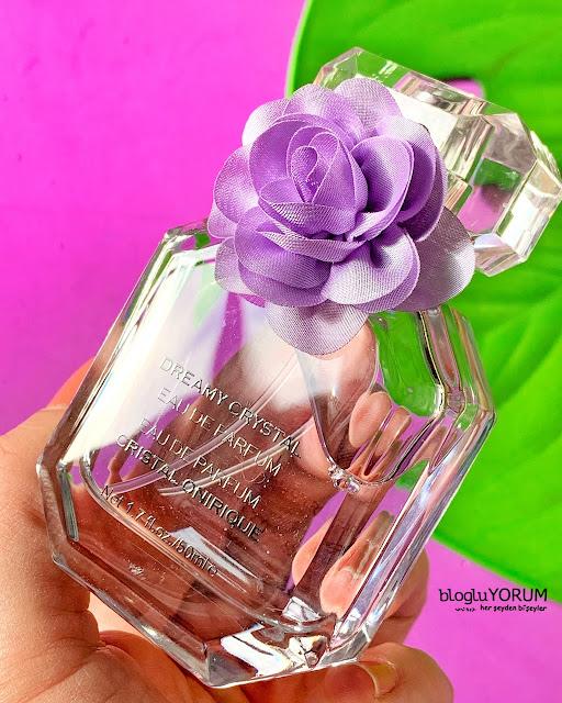 dreamy crystal kadın parfüm kullananlar