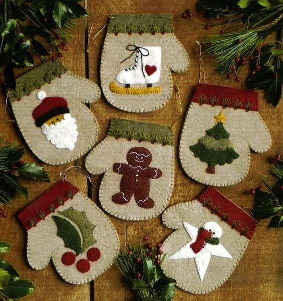 Imagenes fantasia y color manualidades navide as para decorar tu hogar - Figuras navidenas para decorar ...