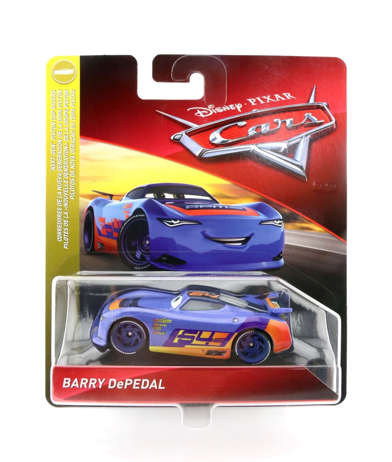 cars 3 barry depedal diecast