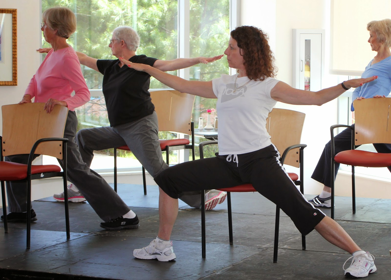 Yoga Chair Exercises For Seniors Glider Repair Parts The View From Hospital Hill Senior Expo Health Fair Will