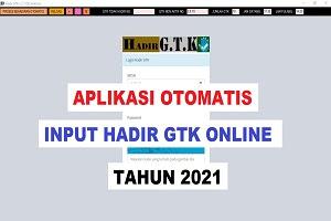 Cara Cepat Entri Hadir GTK Online Versi 2.1 (Aplikasi Hadir GTK V2.1)