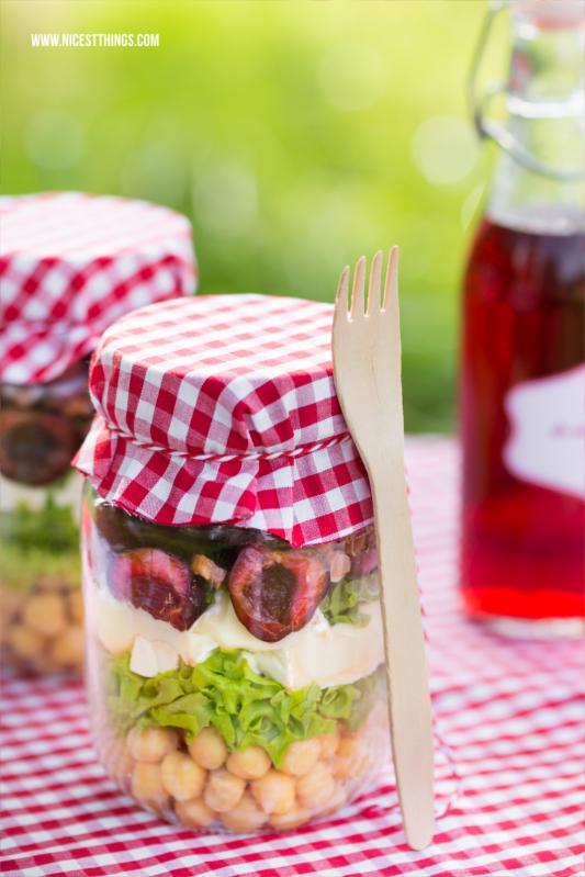 Rezept Picknick Salat zum Mitnehmen im Glas