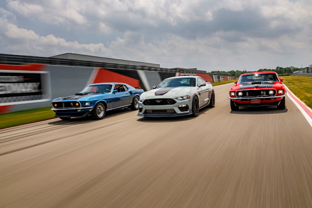1969 to 2021 Mustang Mach 1