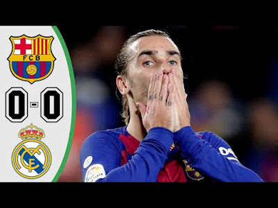 Real Madrid vs Barcelona 0-0 All Goals And Match Highlights [MP4 & HD VIDEO]