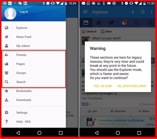 facebook video download application for android