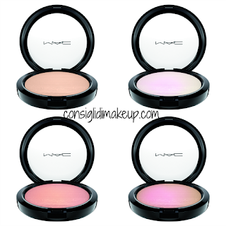 Preview In the Spotlight Mac Cosmetics  extra dimension skin finish blush illuminanti