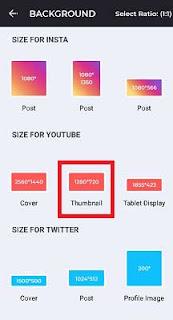 Cara Membuat thumbnail Youtube di Hp Android Yang Menarik