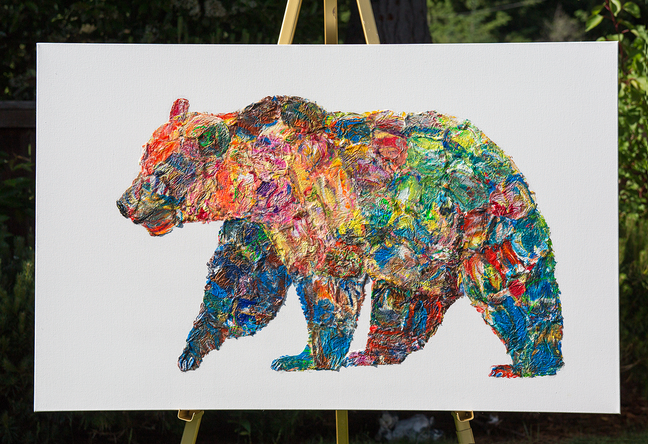 bear painting, polar bear dot , polar bear oil, bear mixed media, Grizzly Bear painting, bear 3d painting, bear dot painting, abstract bear art,bear textured, bear wall art, bear pop art, acrylic bear,