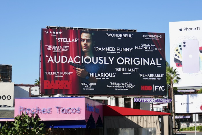 Barry 2019 Audaciously original FYC billboard
