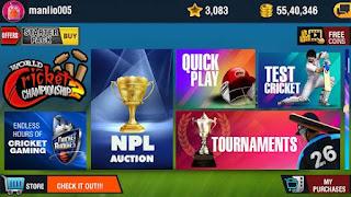 Descargar World Cricket Championship 2 MOD APK 2.8.8.6 VIP GRATIS para android 2020 6