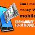 Can I make money with mobile?