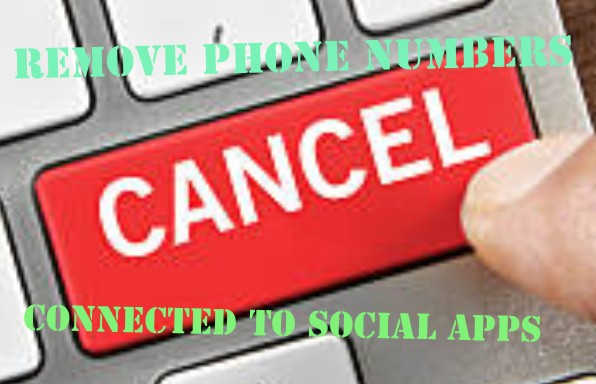 SIMPLY CANCEL SOCIAL APPS YOUR NUMBER IS CONNECTED TO