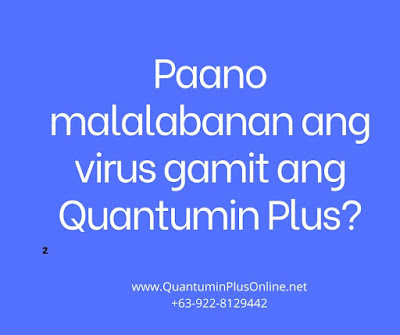 Quantumin Plus COVID-19 Corona Virus