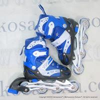 Sepatu Roda Super Power Inline Skate Blue