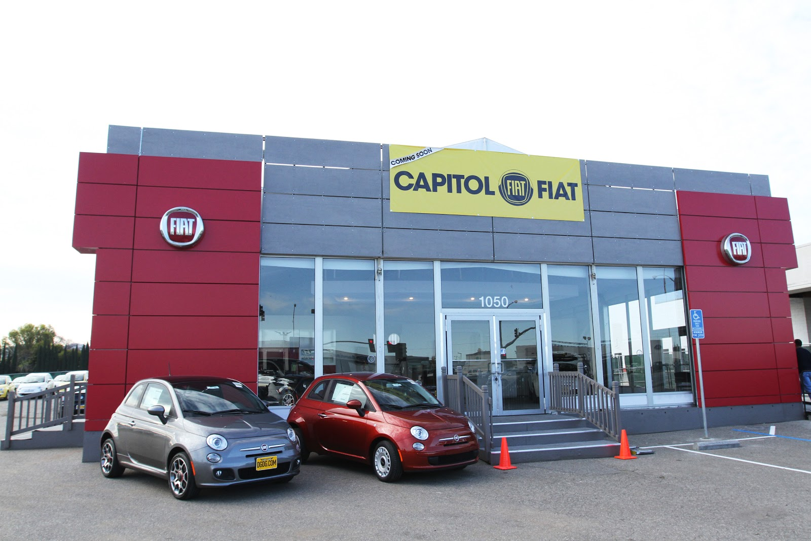 Capitol Fiat The Newest Member Of Del Grande Dealer Group At 1050 Expressway Auto Mall San Jose Ca 95136