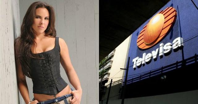 """""""Televisa ofrece como """"damas de compañia"""" a las actrices"""", dice Kate del Castillo"""