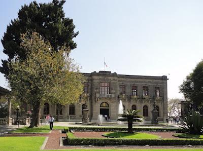 Foto do Castelo Chapultepec, história da Cidade do México, a capital asteca e mexicana