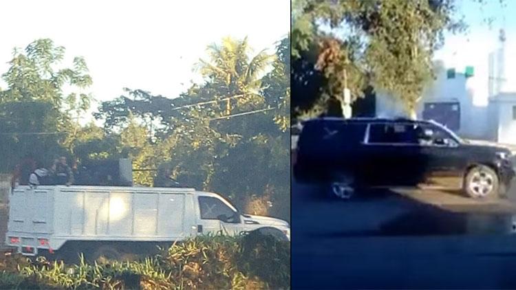 """VIDEOS: """"Bájense o van a valer madre"""" gritaban los sicarios tras arribar comando armado a Villa Juárez, Sinaloa"""