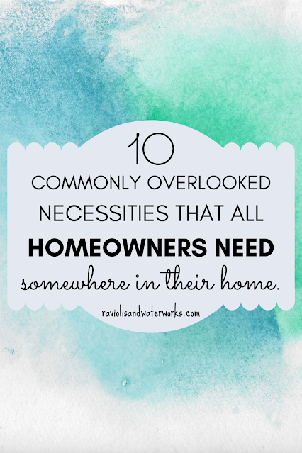 ten necessities that everyone should have in their house