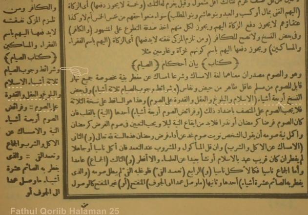 3 Syarat Wajib Puasa Ramadhan Menurut Kitab Fathul Qoriib