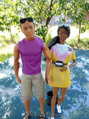 Mattel Barbie doll Puma Sport BMR ken Skipper AA Made To Move MtM body