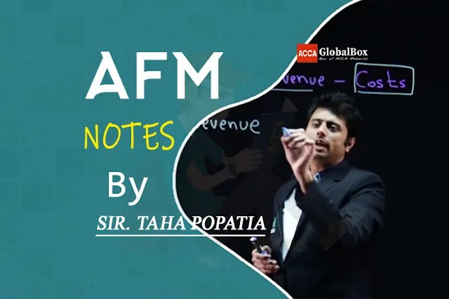 AFM Notes - By Taha Popatia | 2020-2021