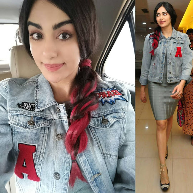 Adah Sharma In Dimple Amrin