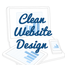 clean website design