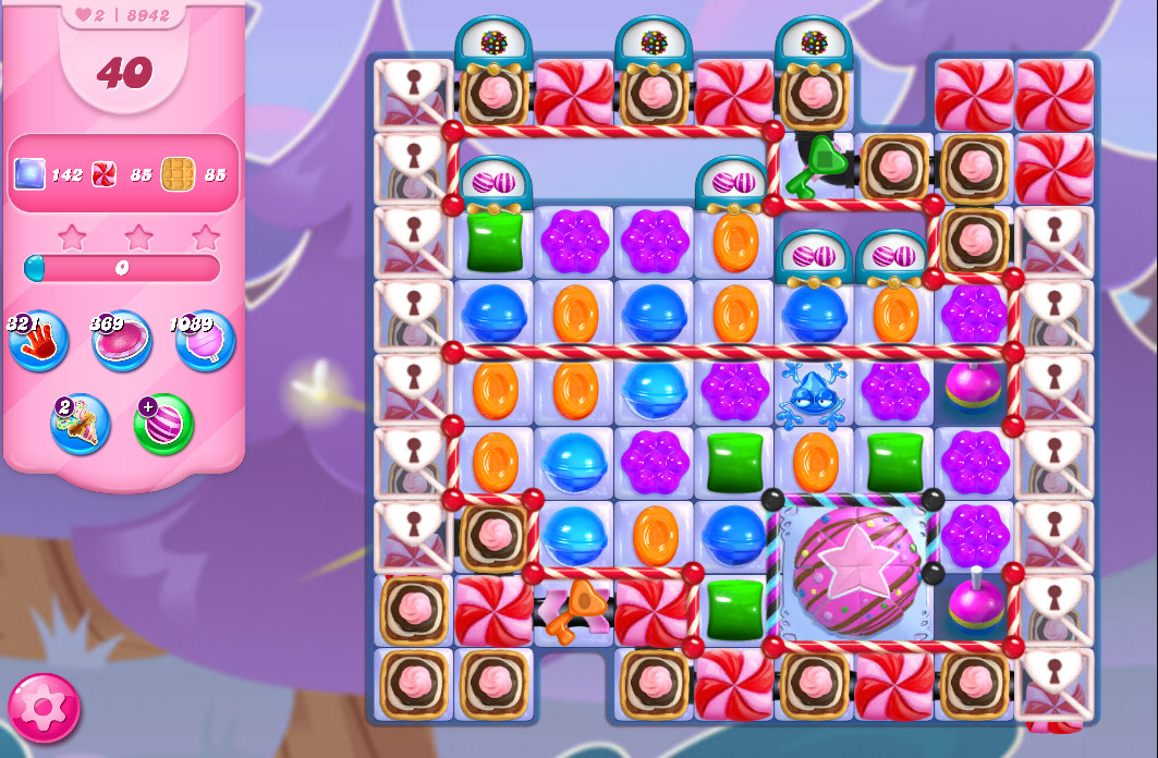 Candy Crush Saga level 8942