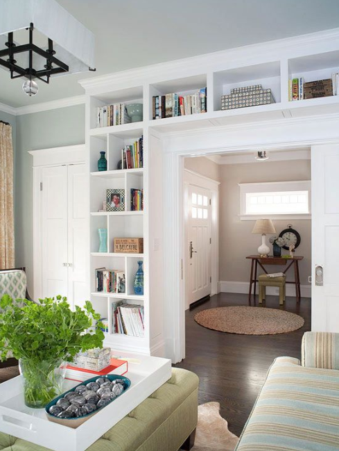 CLEVER BUILT-INS FOR SMALL SPACES