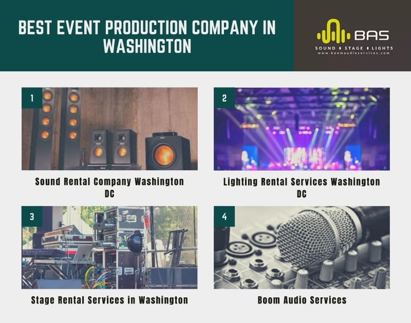 event production companies in washington dc