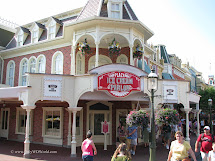 Ice Cream Parlor Main Street Disney World