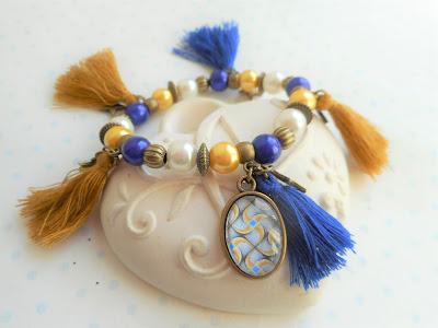 bracelet élastique wax