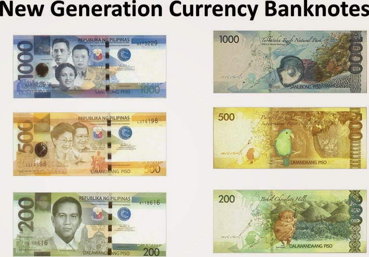 New generation currency banknotes