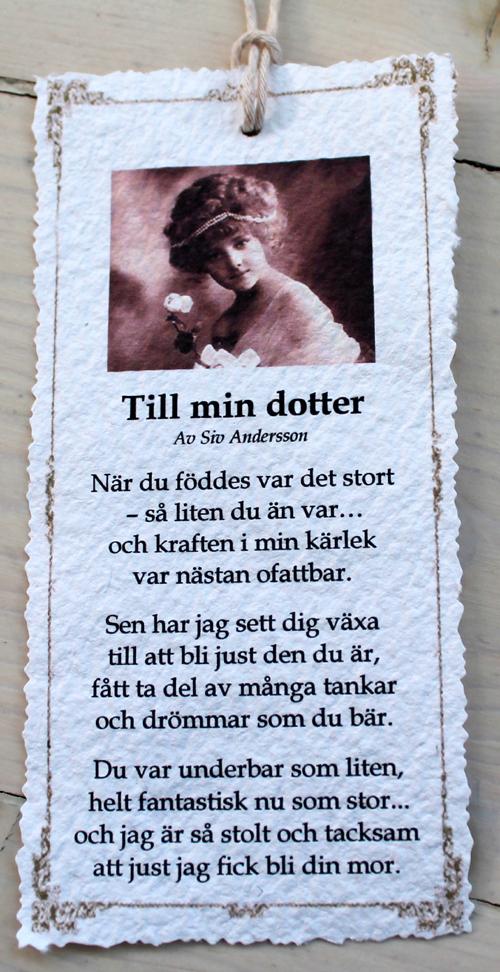 dikt dotter födelsedag Annas idéer: Nya dikter av Siv Andersson dikt dotter födelsedag