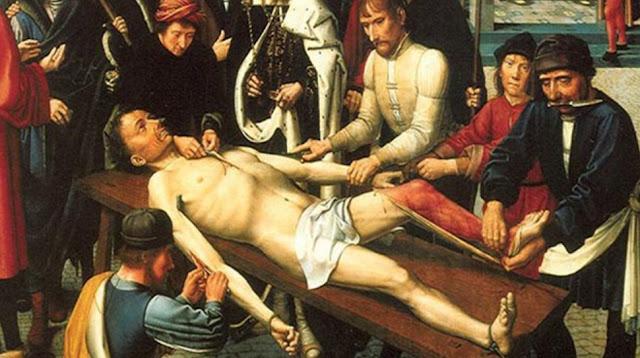Hukuman Mati paling sadis sepanjang masa [Flaying]