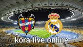 مباراة  ريال مدريد وليفانتي بث مباشر بتاريخ 30-01-2021 الدوري الاسباني