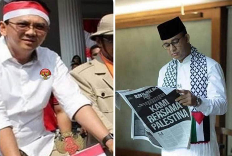 Ahok vs Anies Baswedan