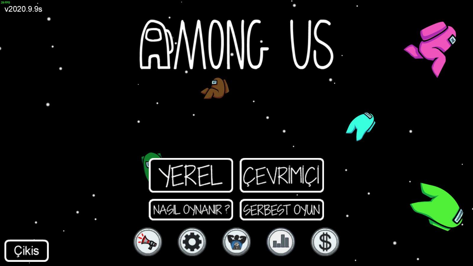 Among US PC %100 Türkçe Yama Dosyası - Türkçe Dil Kurulum