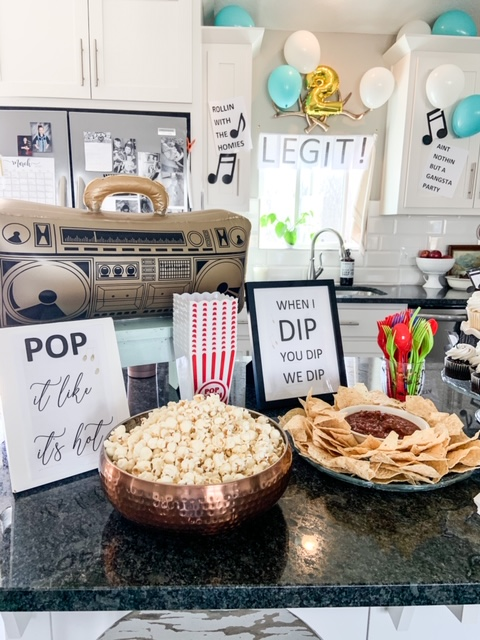 cheap and easy second birthday party