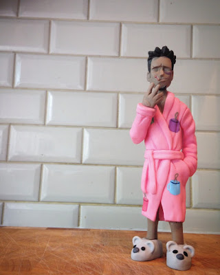 Fight Club Bathrobe Variant Tyler Durden Resin Figure by WheresChappell